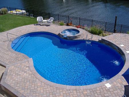 piscina al cottage