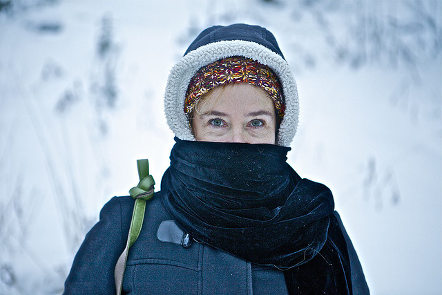 La cosa principale in inverno è vestirsi calorosamente