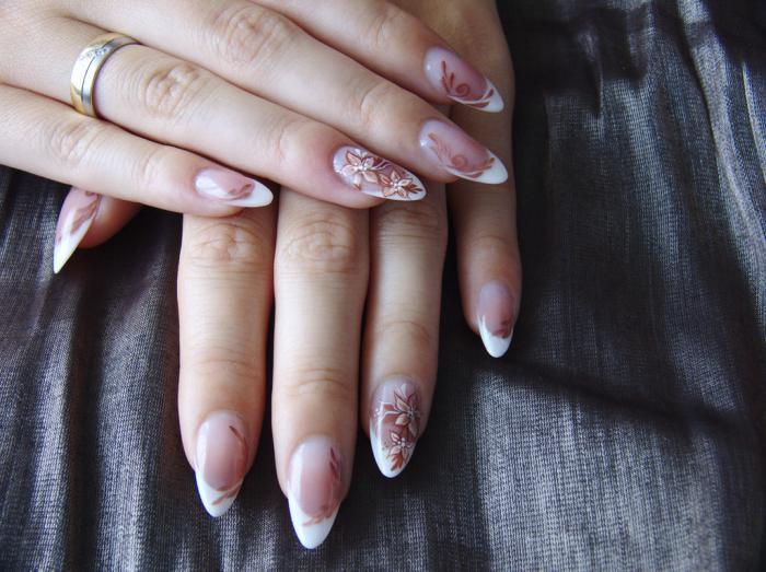 Design delle unghie  Forma quadrata