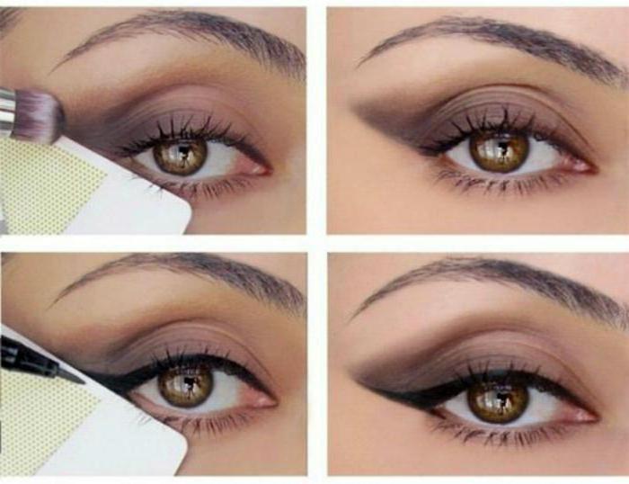 шаблони за очите стрелки го направите сами