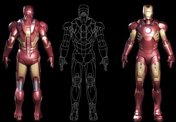 come fare un vestito di iron man
