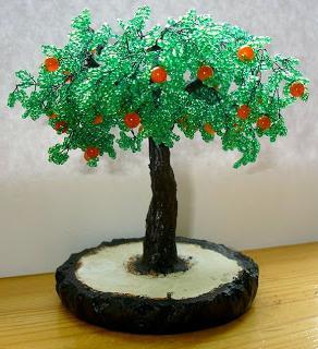 jak zebrać drzewo z koralików
