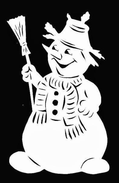 come fare una domanda di pupazzo di neve di carta