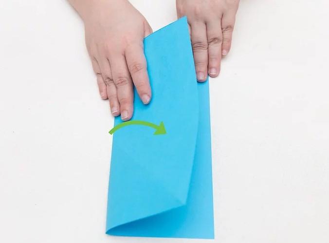 portafogli di carta origami
