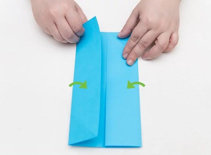come realizzare un portafogli origami