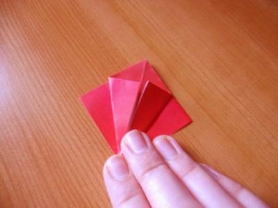 papir origami lotos cvijet