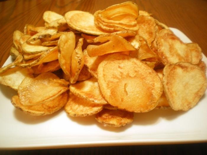 come fare le patatine a casa