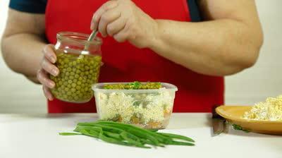 риба треска салата