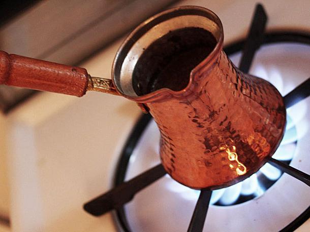 Come fare il caffè nel Turco