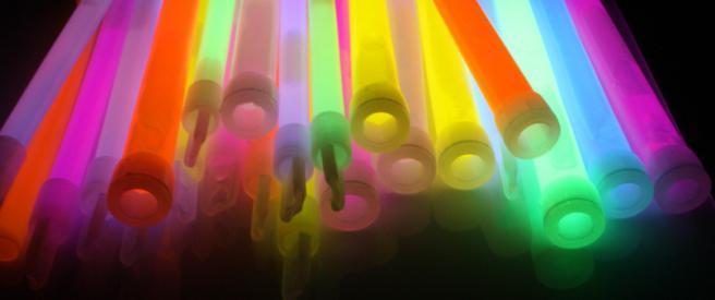 pałeczki świecące