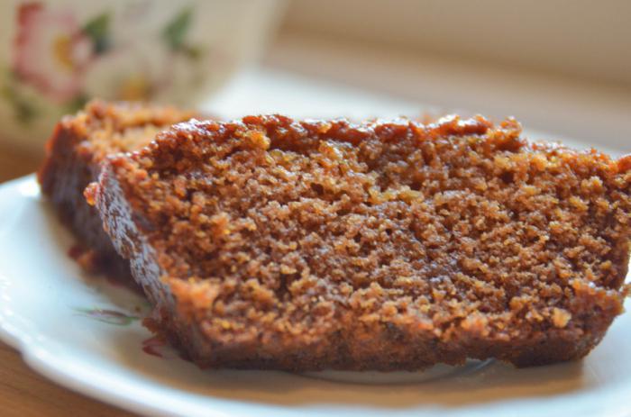 pan di zenzero con crema al miele