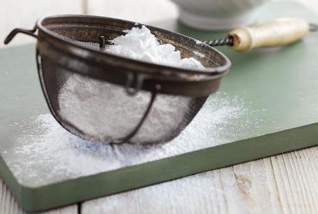 ricetta di zucchero in polvere