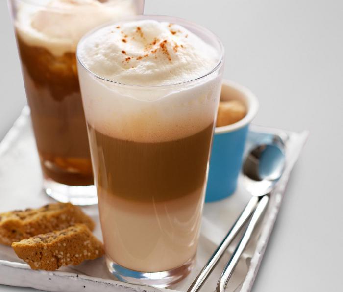 Latte Macchiato kava