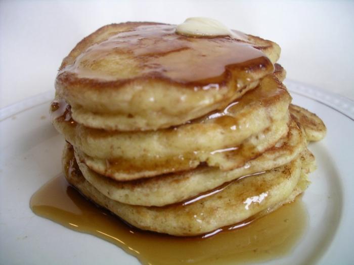Pancakes su kefir
