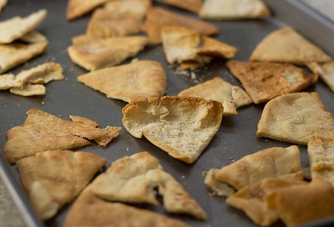 kako napraviti čips od pita kruha