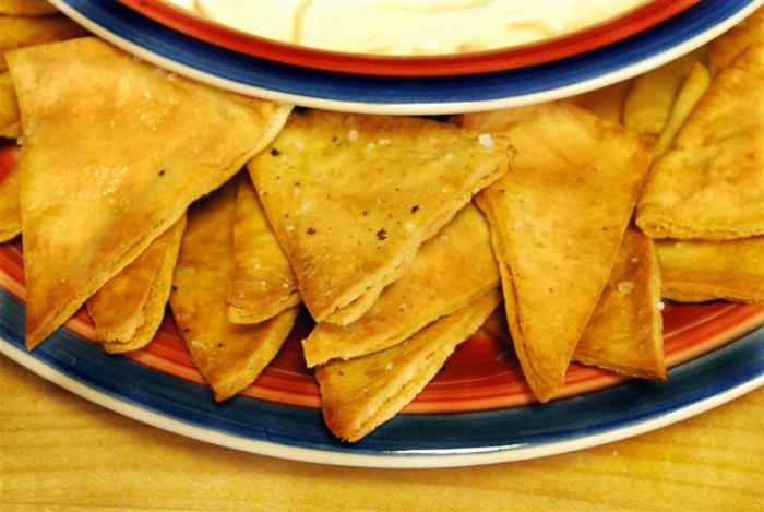 pita čips sa sirom