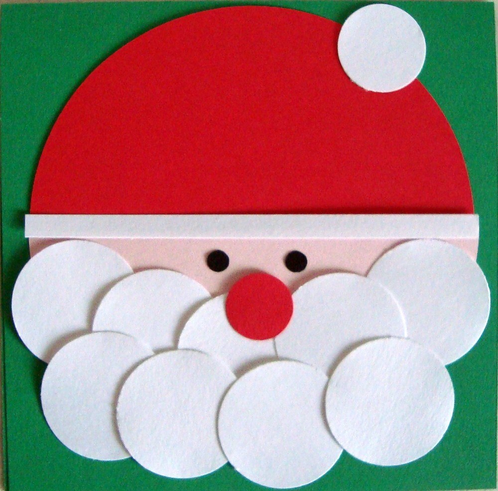 Babbo Natale dai tamponi di cotone