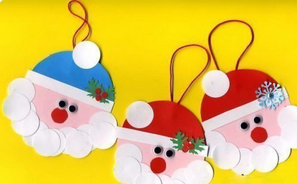 Albero di Natale giocattolo Babbo Natale con le proprie mani
