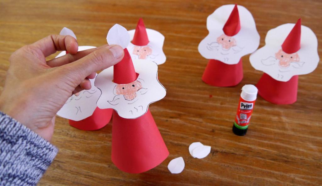 Babbo Natale di carta
