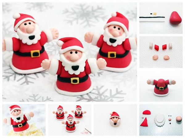 Babbo Natale da plastilina