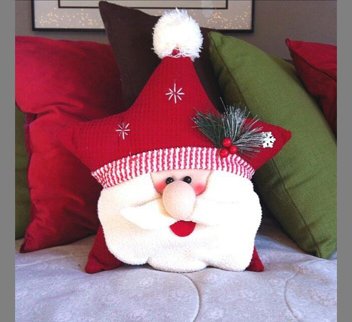 cuscino di Babbo Natale