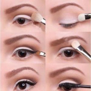kako napraviti oči