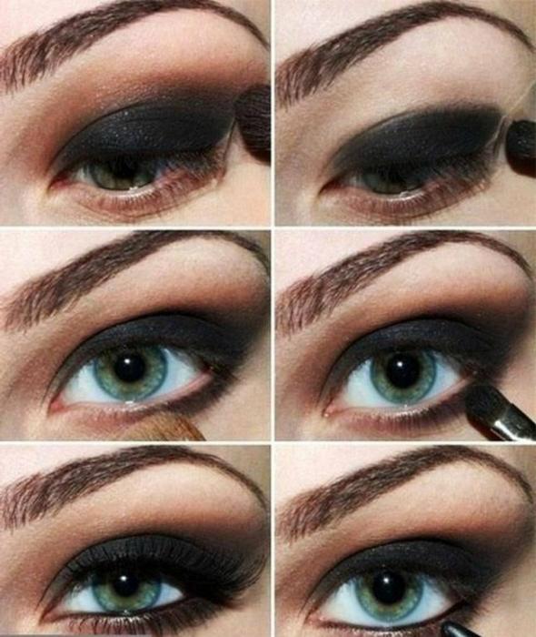 kako napraviti svoje oči sjenama