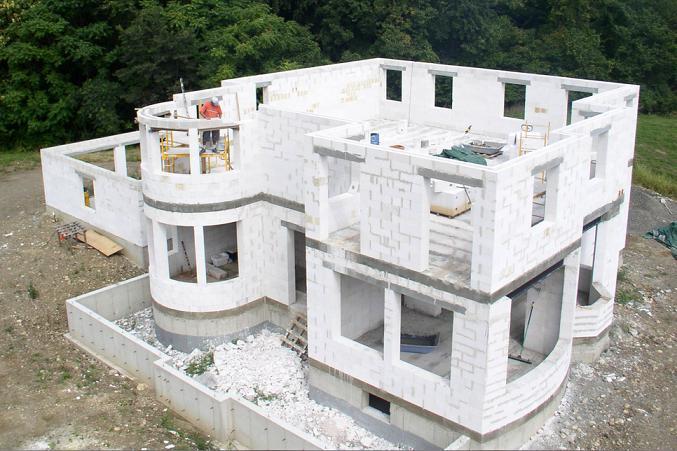 форме за пјенасти бетон
