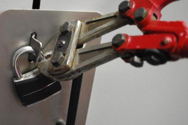 come rimuovere la serratura senza una chiave