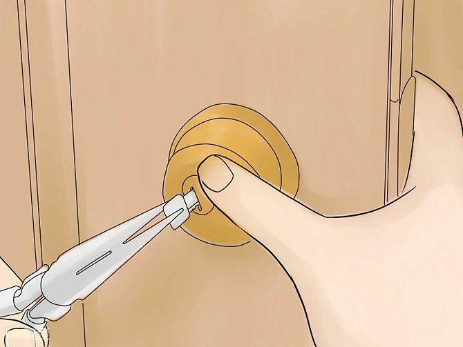 come aprire il blocco senza chiave