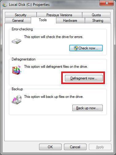 Brezplačno optimizirajte delovanje računalnika