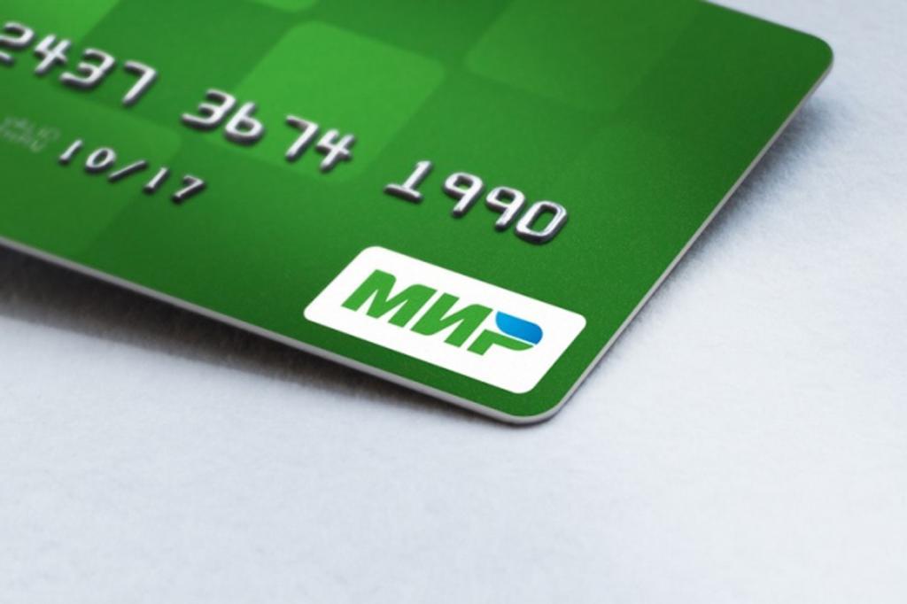 MIR card di Sberbank