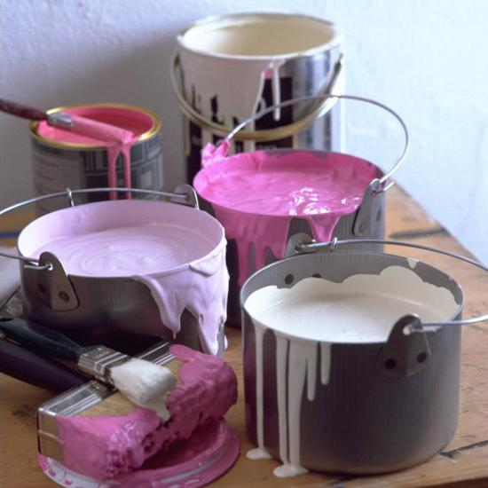 ] jak namalovat strop barvou na bázi vody