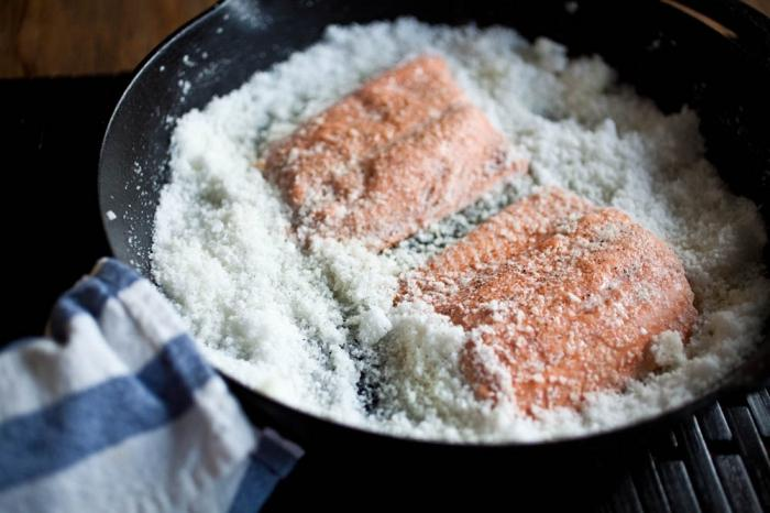 лосос за кисели краставац код куће