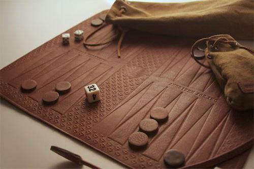 długa gra w backgammon