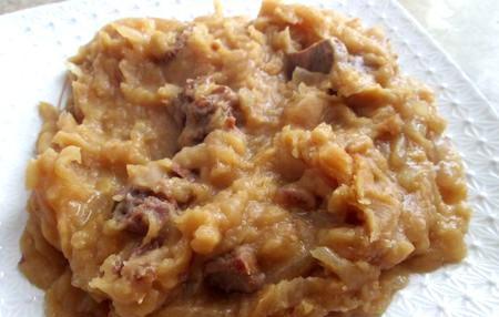 рецепта за грахова каша с месо