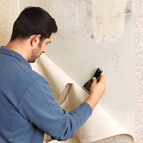 come preparare il muro per lo sfondo