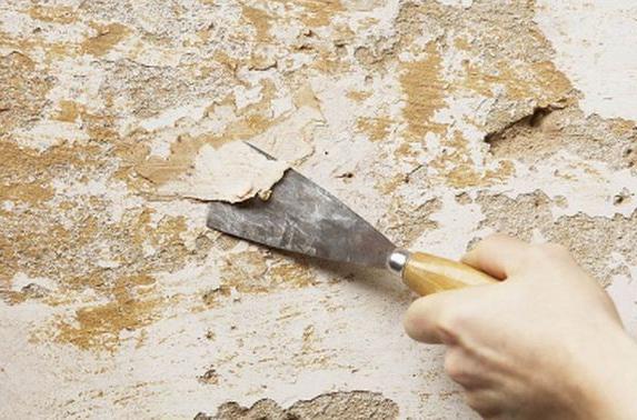 elaborare le pareti prima di attaccare la carta da parati