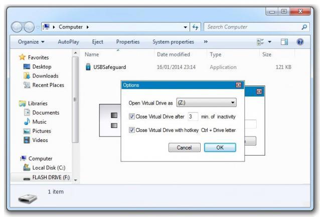 programma per password su flash drive