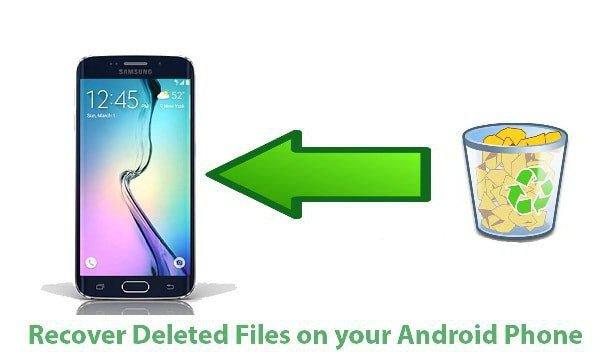 как да възстановите изтрити файлове на android