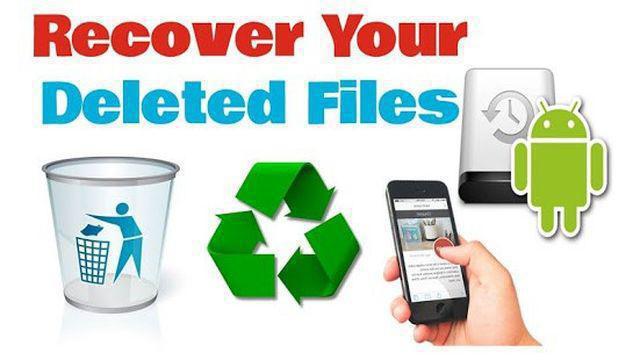 изтрити файлове от Android телефон възстановяване