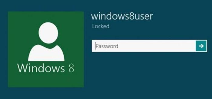come rimuovere la password su Windows 8