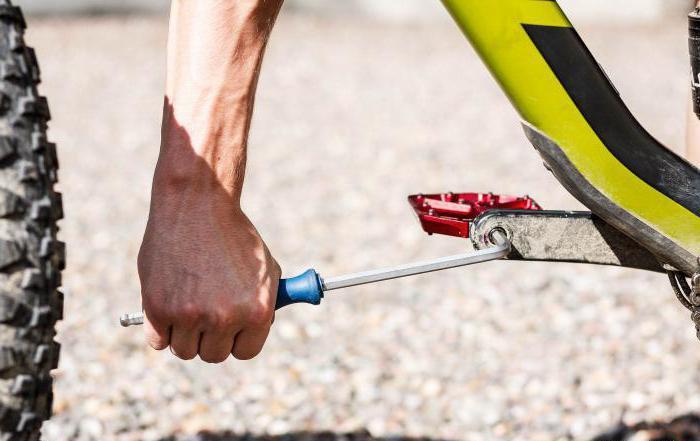 Jak usunąć pedał z roweru