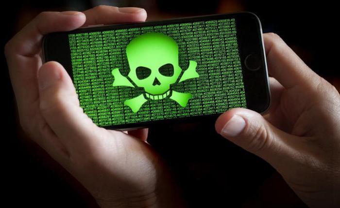 kako odstraniti virus iz telefona