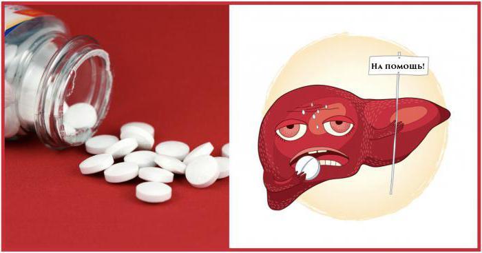 prodotti per la riparazione del fegato