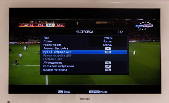 come impostare i canali su Samsung TV