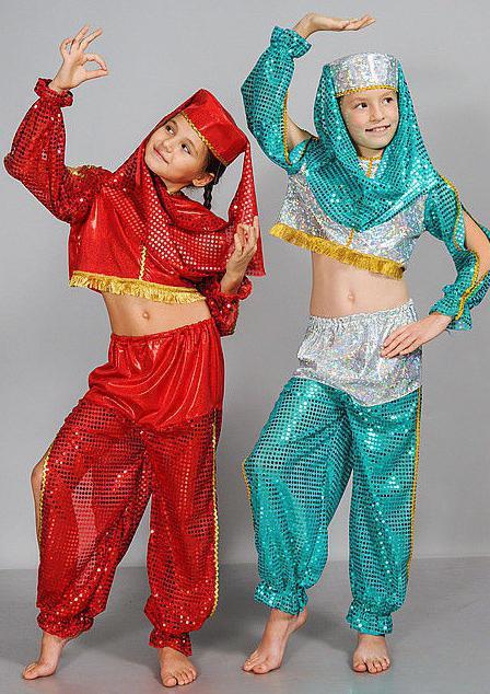 Orientalski lepotni kostum za otroke