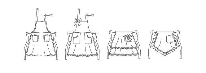 jak zrobić fartuch do kuchni własnymi rękami