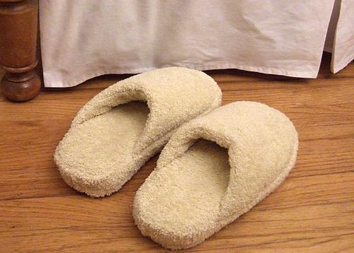 come cucire le pantofole