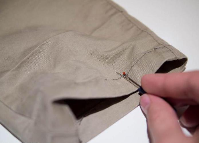 come accorciare i pantaloni